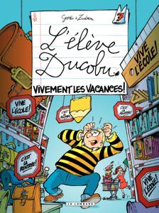 L'Elève Ducobu  - tome 07 - Vivement les vacances ! La couverture du livre martien