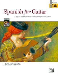 Spanish For Guitar Masters In Tab