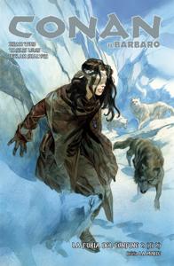 Conan il Barbaro 5. La furia del confine & La morte Libro Cover