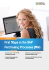 First Steps In The SAP Purchasing Processes MM