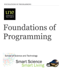 Foundations of Programming