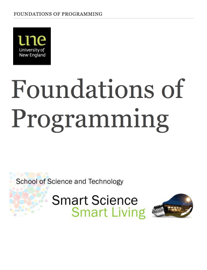 Foundations of Programming book