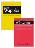 Wörterbuch Österreichisch Deutsch & Der kleine Wappler