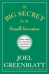 The Big Secret for the Small Investor Cover Book