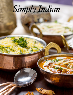 Simply Indian - Andrew Kissée book