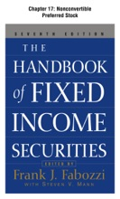 The Handbook Of Fixed Income Securities, Chapter 17 - Nonconvertible Preferred Stock