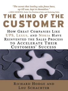 The Mind of the Customer La couverture du livre martien