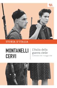 L'Italia della guerra civile - 8 settembre 1943 - 9 maggio 1946 Libro Cover