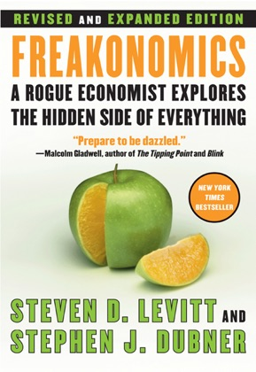 Freakonomics Rev Ed book cover