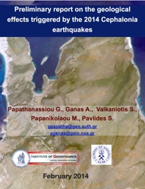 Preliminary Report On The Geological Effects Triggered By The 2014 Cephalonia Earthquakes