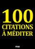 Divers auteurs - 100 citations à méditer artwork