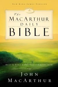 NKJV, The MacArthur Daily Bible, eBook Book Cover