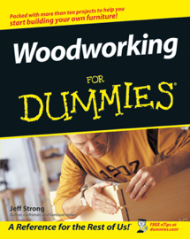 Woodworking For Dummies book