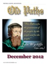 Old Paths December 2012