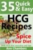 35 Quick & Easy HCG Recipes