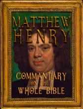 Holy Bible With Matthew Henry's Concise Commentary