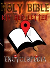 Holy Bible (KJV Red Letter Edition) with Encyclopedia