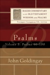 Psalms  Volume 3 Baker Commentary On The Old Testament Wisdom And Psalms