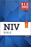 NIV Bible Red Letter Edition