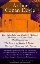 Die Rückkehr des Sherlock Holmes: Im leeren Hause und andere Detektivgeschichten / The Return of Sherlock Holmes: The Empty House and Other Stories - Zweisprachige Ausgabe (Deutsch-Englisch) / Bilingual edition (German-English)