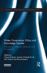 Water Governance Policy And Knowledge Transfer