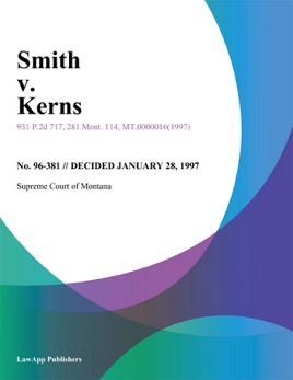 Smith And Kerns >> Smith V Kerns On Apple Books
