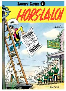 Lucky Luke - Tome 6 - HORS-LA-LOI La couverture du livre martien