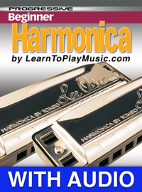 Beginner Harmonica Lessons - Progressive with Audio