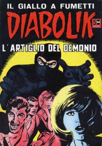 DIABOLIK #33 Libro Cover