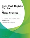Roth Cash Register Co