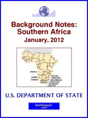 Background Notes: Southern Africa, January, 2012