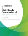 Goodman V State Roads Commission Of