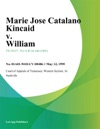 051295 Marie Jose Catalano Kincaid V William