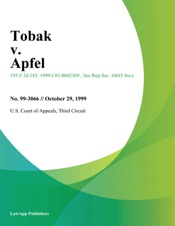Download Tobak v. Apfel