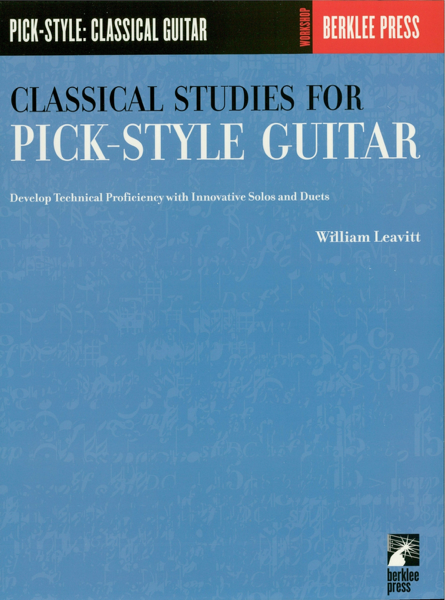 Classical Studies for Pick-Style Guitar - Volume 1 (Music Instruction)