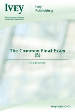 The Common Final Exam (B)