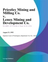 Priestley Mining And Milling Co V Lenox Mining And Development Co