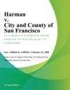 Harman V City And County Of San Francisco