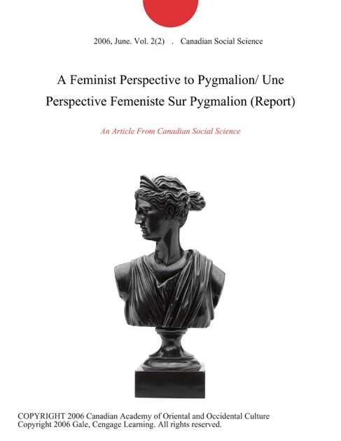 feminism in play pygmalion