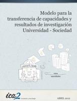 Transferencia de capacidades y resultados de investigación Universidad - Sociedad
