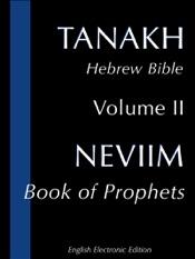 Neviim: Book of Prophets