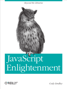 JavaScript Enlightenment Book Cover