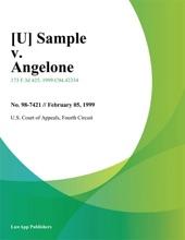 [U] Sample V. Angelone