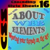 About Web Elements 16