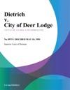 Dietrich V City Of Deer Lodge