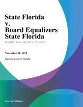 State Florida v. Board Equalizers State Florida