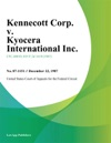 Kennecott Corp V Kyocera International Inc