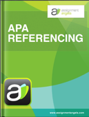 AA APA Referencing: Assignment Angels