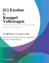 Escobar V Koeppel Volkswagen
