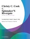 030794 Christy C Cook V Spinnakers Rivergate